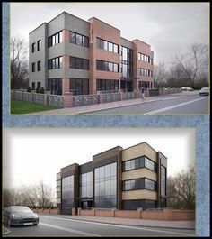 Sakarya B.Ş.B engelsiz yaşam binası - 3d görselleri