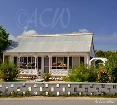 The oldest house on Grand Cayman Island