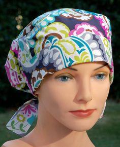 Scrub Hats for Women - Small to Medium - Boho