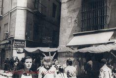 Años cincuenta. La Travesía de Bringas vista desde la Cava de San Miguel | Flickr: Intercambio de fotos