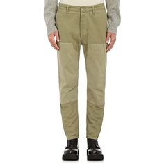 Rag & Bone Men's Workwear Cotton Canvas Chinos ($295) ❤ liked on Polyvore featuring men's fashion, men's clothing, men's pants, men's casual pants, green, mens chinos pants, men's 5 pocket pants, mens chino pants, mens green pants and mens green chino pants
