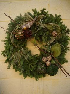 (Like the twig through the wreath)