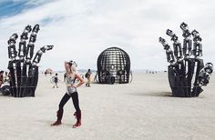 The 2016 Burning Man festival has come to a close, and its 70,000 attendees have dusted themselves off from Nevada's Black Rock Desert and gone home. They've undoubtedly left more inspired as the week-long event celebrated incredible works of art and fostered a sense of community among all who arrived. Many use Burning Man as an excuse to technologically disconnect from everyday life and enjoy being in the moment. Although we got an early peek at some of the impressive, Renaissance-inspired…