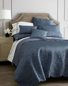 "bedding & linens  ""Renee"" Bed Linens by Kevin O\'Brien Studio at Horchow."