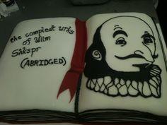 Shakespeare Cake!