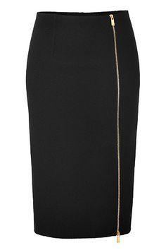MICHAEL KORS Wool Pencil Skirt in Black Mode Outfits, Skirt Outfits, Skirt Pants, Dress Skirt, Vetements Paris, Mode Blog, Winter Mode, Business Outfit, Winter Skirt