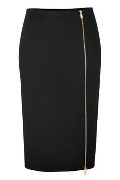 MIchael Kors Wool Pencil Skirt in Black Mode Outfits, Skirt Outfits, Dress Skirt, Business Outfit, Winter Mode, Winter Skirt, Cute Skirts, Mini Skirts, Luxury Fashion