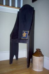 Primitive Pouting Chair-chair, little chair, petite chair, reproduction furniture, primitive, handmade