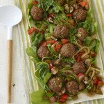 Any-phase garden meatballs