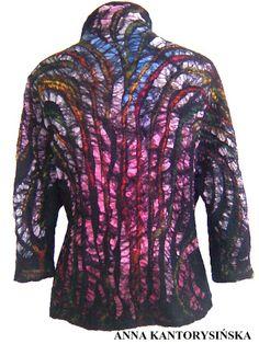 nuno felted jacket