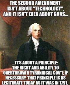 The meme below share about truth about our founding fathers and the Second Amend.-- The meme below share about truth about our founding fathers and the Second Amendment they don't teach in schools any more: Quotable Quotes, Wisdom Quotes, Life Quotes, Gun Quotes, Qoutes, Thomas Jefferson, Great Quotes, Inspirational Quotes, Clever Quotes