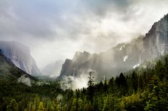 Yosemite Valley on a Misty Morning by Eileen Ringwald on 500px