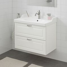 IKEA bathroom is seamless, stylish, and timeless. Buy IKEA product series with high quality to equip your modern bathroom. Bathroom Sink Cabinets, Ikea Bathroom, Bathroom Faucets, Bathroom Fans, Bathrooms, Modern Bathroom, Steel Seal, Plastic Foil, Wash Stand