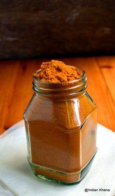 Sambar Powder Recipe - Sambar Powder or Podi as it's called in Tamil doesn't go hand-hand with me given the fact that I hardly make samb...