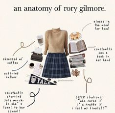 Rory Gilmore Style, Lorelai Gilmore, Girl Outfits, Cute Outfits, Fashion Outfits, Gilmore Girls Fashion, Glimore Girls, Aesthetic Clothes, Style Inspiration