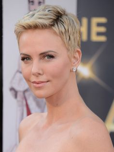 Charlize Theron...she's so incredibly beautiful and I love her style!!