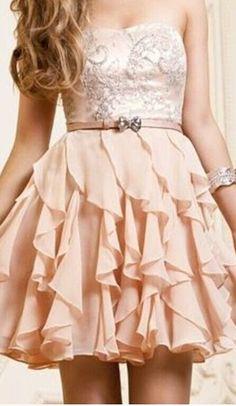 Chiffon Short Prom Dresses, Sweeth