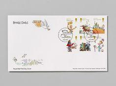 Roald Dahl Stamps by Magpie Studio