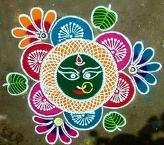 Rangoli Designs for Dussehra