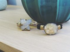 How to make a Wire Wrapped Druzy Bracelet | Alonso Sobrino Hnos. Co. & Inc. Druzy Beads and Fabrics