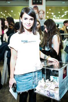 MagTag - Shop this Look Scott Schuman, Short Celebrities, Mira Duma, Photo Report, Sartorialist, Miroslava Duma, Style Icons, Sequin Skirt, Celebrity Style