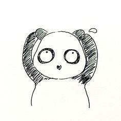 【一日一大熊猫】2016.5.26 日焼けしたくない女性の方々、 そろそろ日焼け止めを塗らなくちゃ。 目の周りや耳にもね。 #パンダ