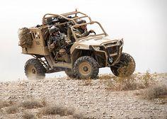 ADS Inc. Polaris MRZR Tactical Warfighter Vehicles