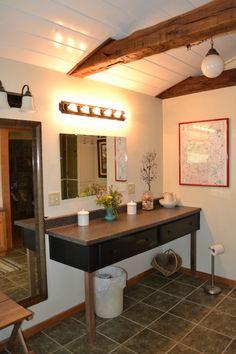 Great vanity space!
