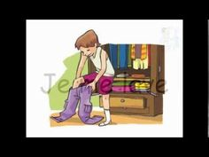Les activités quotidiennes - YouTube High School French, French Worksheets, Core French, French Classroom, French Resources, French Immersion, Grammar And Vocabulary, French Lessons, Teaching French