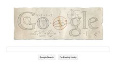 Leonhard Euler's 306th birthday.  Mathematicians still use the notations he invented -- April 15, 2013