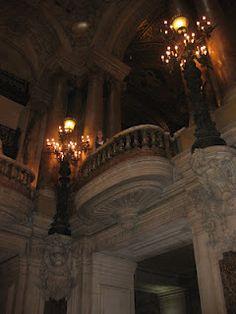 "8/1/2011 the Paris Opera House. Looks like ""box 5"" like in phantom of the opera"