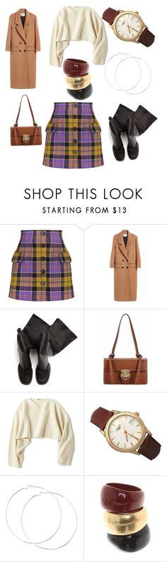 All days outfit. by bianca-pumilia on Polyvore featuring moda, Uniqlo, Alessandra Rich, Rick Owens, Gucci, Longines and Salvatore Ferragamo