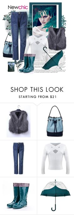 """NEWCHIC 110. (Woman 9.)"" by carola-corana ❤ liked on Polyvore featuring Hunter"