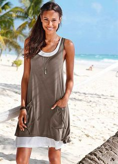 Beach Style Clothing | in 1 Layered Beach Dress | Dresses | Fashion | Curvissa
