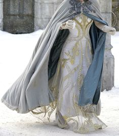 Elven winter outfit
