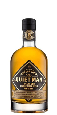 The Quiet Man 8 Year Old is a fine single malt Irish whiskey that has been entirely aged in Bourbon casks. Shop online for a huge range of whiskey, international shipping available. Good Whiskey, Cigars And Whiskey, Bourbon Whiskey, Whiskey Bottle, Whiskey Cocktails, Scotch Whisky, Whisky Club, Single Malt Irish Whiskey, Whiskey Brands
