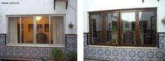 Antes y Después. Renovación de las carpinterías en vivienda www.casia.es