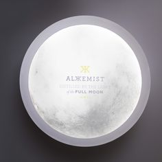 Alkkemist Gin #packaging #led #gin #moon