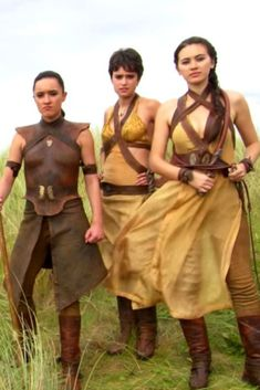 Get it girls!!!  What You Need To Know About The 'Game Of Thrones' Sand Snakes