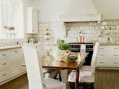 Love the idea of a Chef's table instead of an island.