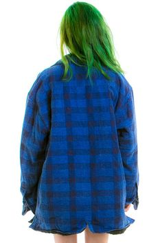 Vintage 90's Lost and Found Quilted Flannel - OSFA