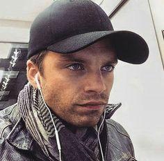 His eyes are gorgeous  It's 02:15 am and I can't sleep  -  #marvel #captainamerica #civilwar #captainamericacivilwar #buckybarnes #wintersoldier #sebastianstan #teamcap #teambucky #prayforwintersoldiermovie #givecaptainamericaaboyfriend #saynotohydracap