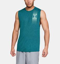 Men's UA Siro Muscle Tank Graphic, TOURMALINE TEAL FULL HEATHER