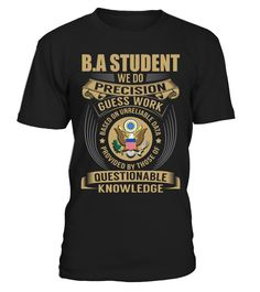 B.A student - We Do Precision Guess Work