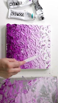Art Thick Acrylic Ombre Painting by Josie Lewis Acrylic Painting Acrylic acrylic painting Art Josie Lewis Ombre Painting Thick Acrylic Pouring Art, Acrylic Art, Abstract Acrylic Paintings, Diy Abstract Art, Art Paintings, Abstract Painting Techniques, Abstract City, Portrait Paintings, Abstract Drawings
