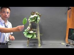 B85 特色花藝設計 How to make a Special Floral Design - YouTube