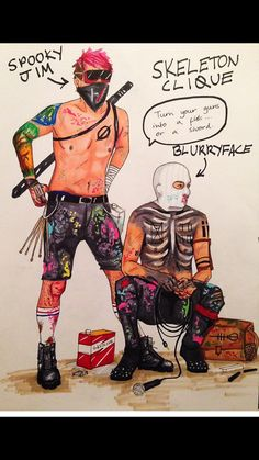 tyler and josh as killjoys is one of the best creations i have ever seen