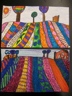 Jamestown Elementary Art Blog: 2nd Grade Heather Galler Folk Art