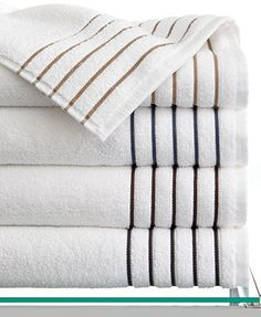 Hotel Collection Borderline Bath Towel Collection