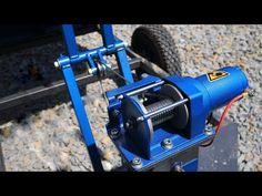 Dump trailer BUILD - YouTube Work Trailer, Trailer Diy, Trailer Build, Utility Trailer, Metal Bending Tools, Metal Working Tools, Bending Wood, Atv Trailers, Dump Trailers